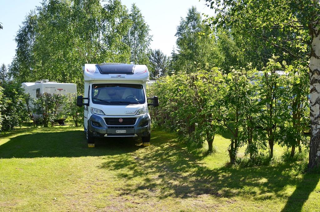 Der Campingplatz in Finnland