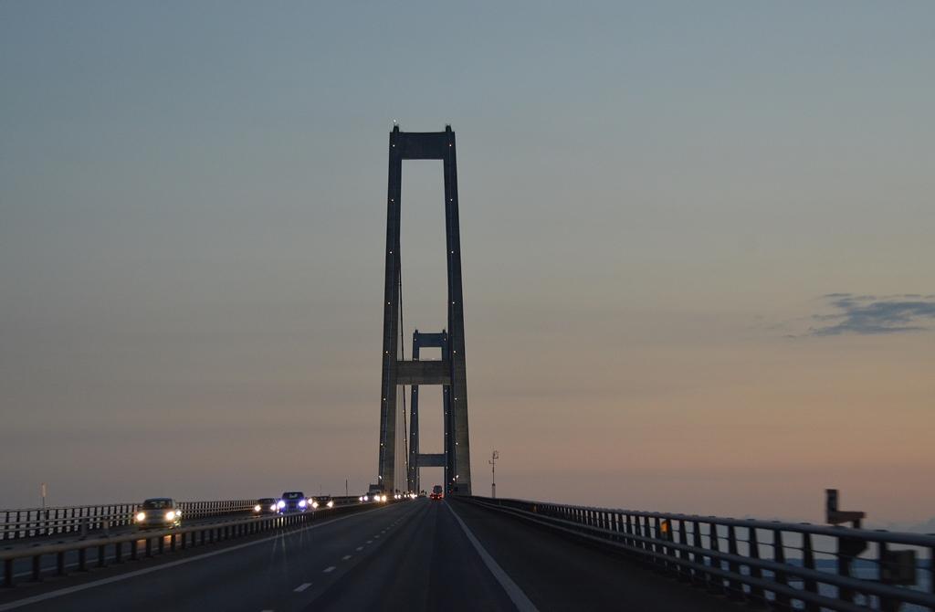 Nächtliche Überfahrt nach Dänemark