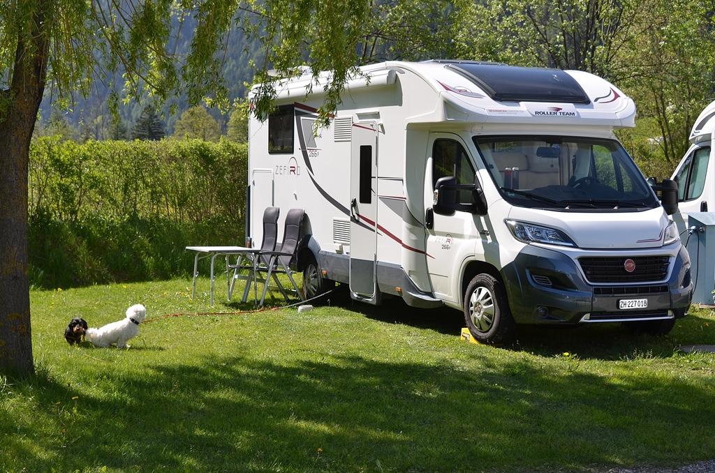 Hübscher Campingplatz mit allem drum und dran