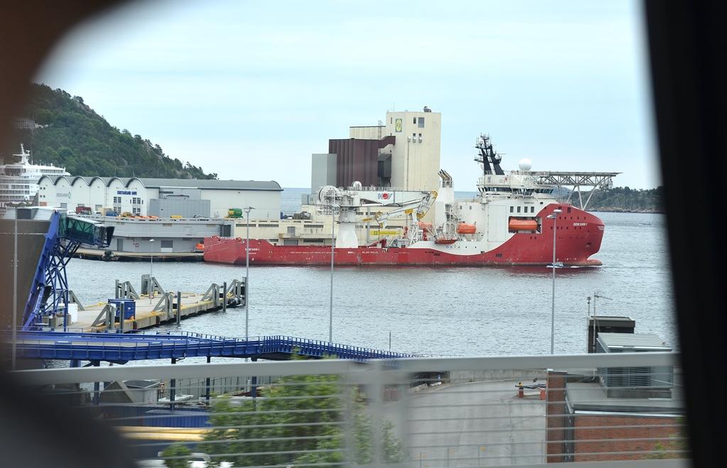 Grosse Schiffe...