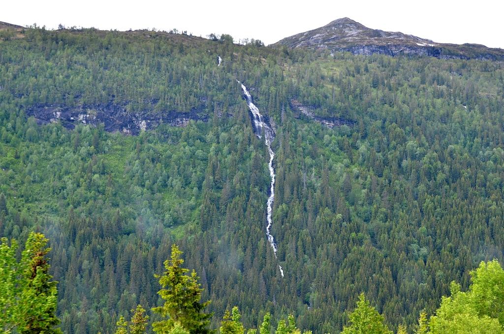 Die Wasserfälle sind so beeindruckend...