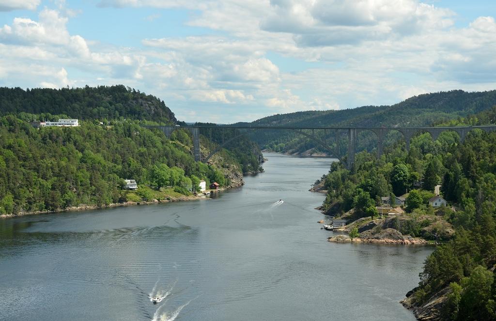 Die ersten norwegischen Fjorde