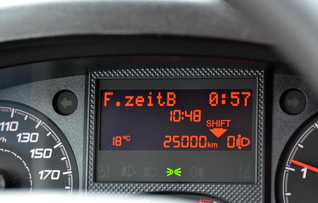 25'000 Kilometer auf der Anzeige