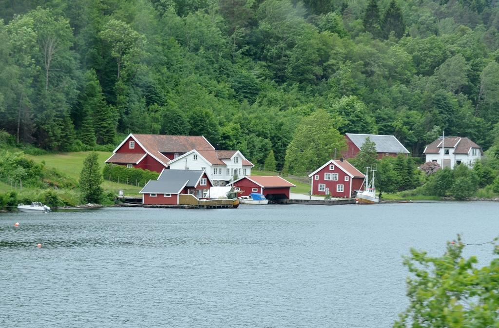 ...norwegische Häuser...