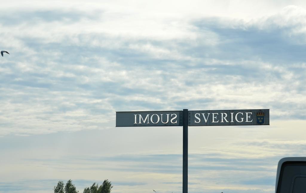 Schon wieder zurück in Schweden