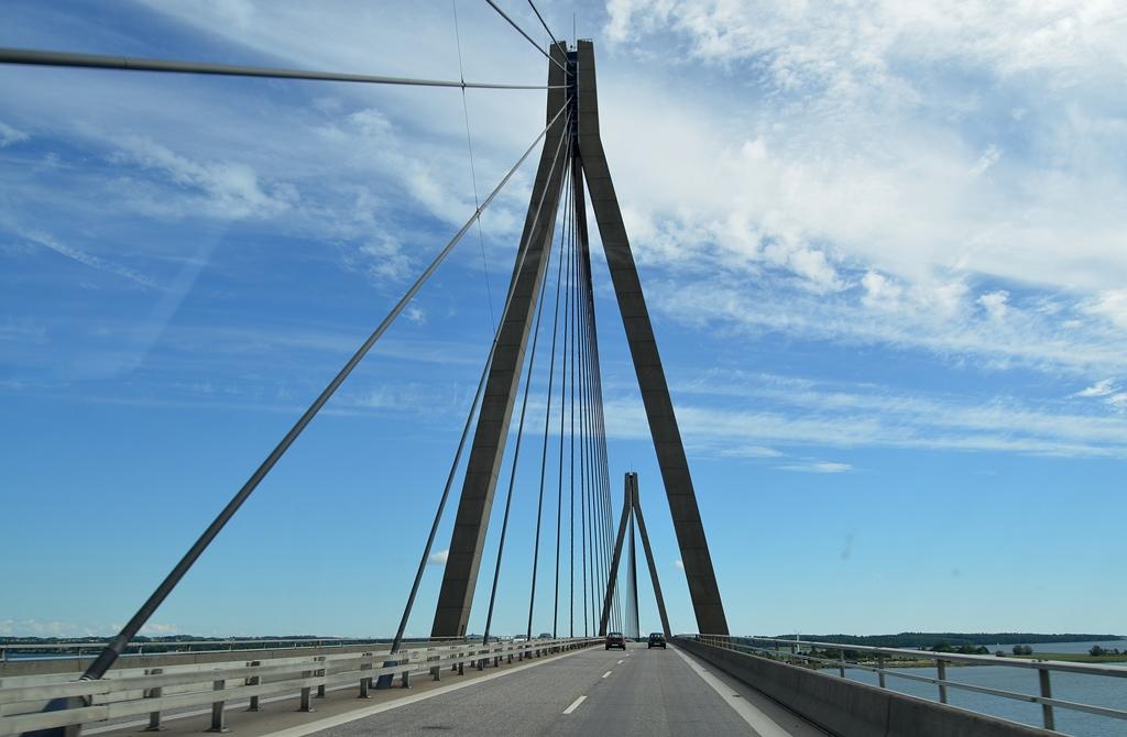 Brücke für Brücke geht es nach Norden
