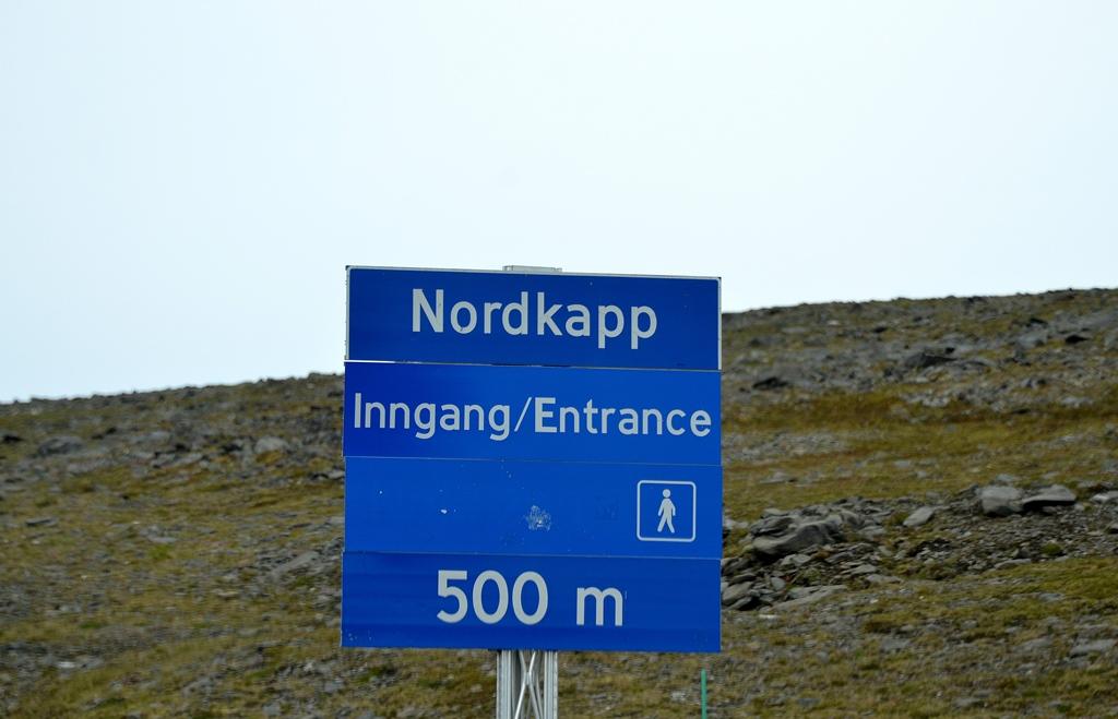 500 Meter ... NORDKAPP!!!