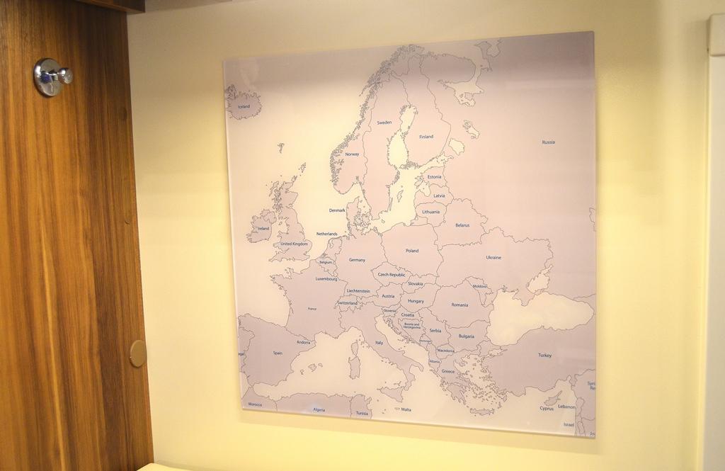 Unsere Europakarte - wo geht es hin?