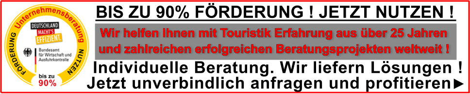 BAFA Förderung Touristik
