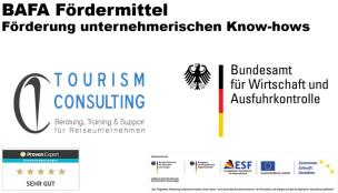 BAFA Förderung unternehmerischen Know Hows Tourismconsulting