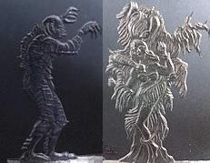 Retro Horror Serie RHO 08-09 Gravur&Zeichnung: K. H. Rieger