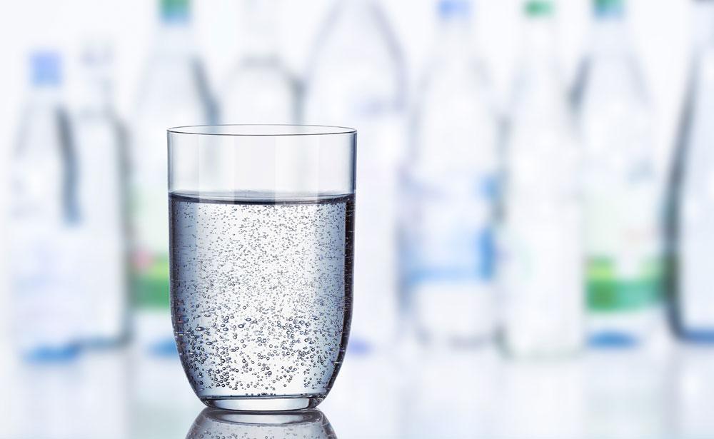 Kohlendioxid findet sich nicht nur in Mineralwasser …