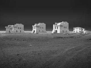 Bauruinen auf der Insel Sal, Cabo Verde