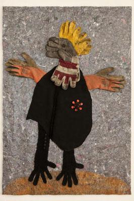 Odradek, 80 x 120 cm, Materialbild 2010,  Preis: 900 Euro