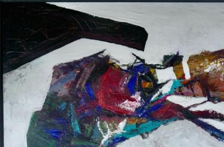 o. T.  Radierung unsigniert, 80 x 50 cm,   keine Auflagenangabe (verkauft)