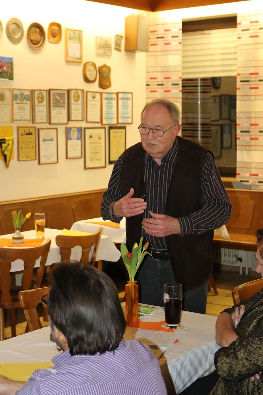 BLSV-Ehrenkreisvorsitzender Walter Fuchs