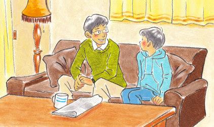 『おかげさまで』小学校道徳五年 あすをみつめて(日本文教出版)