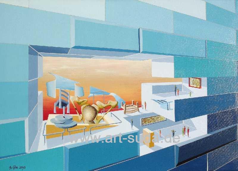Voyeure de Galerie 70 x 50