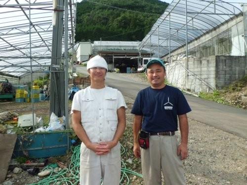 大黒屋農園の婿さん、曽我悟氏とツーショット