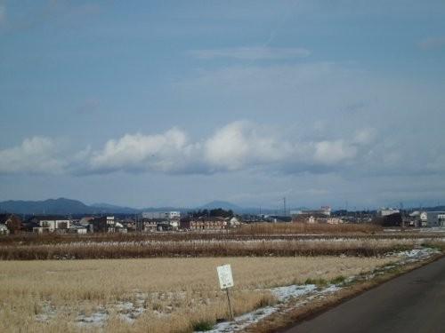 関市から、見える、笠置山 良い天気