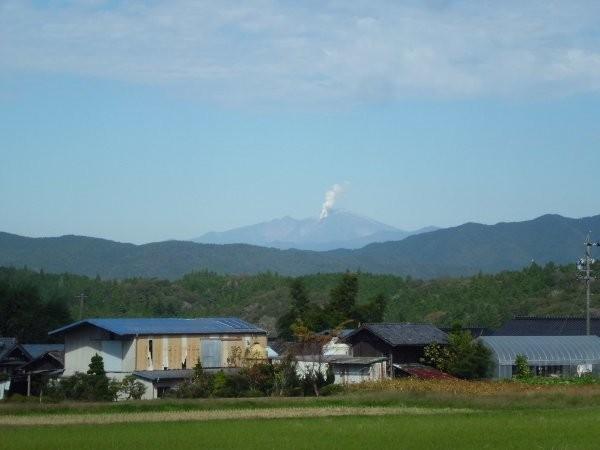 10月25日の御嶽山遠望