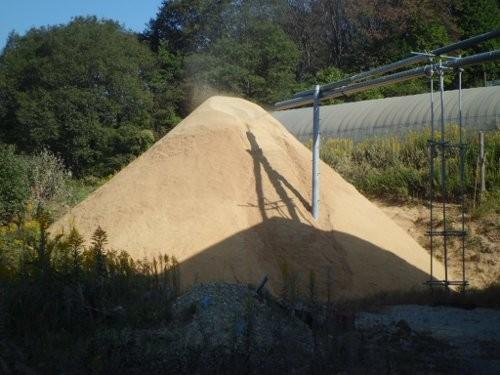 籾殻富士山
