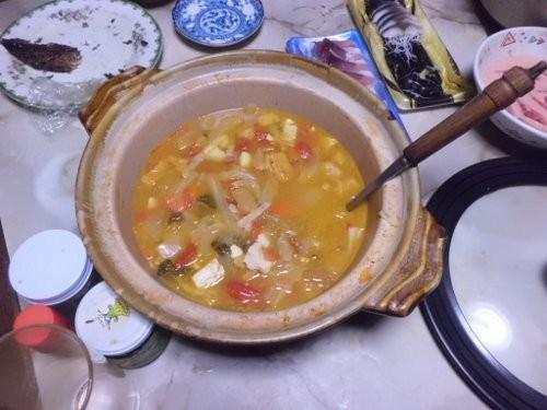 湯むきしてスープに・・