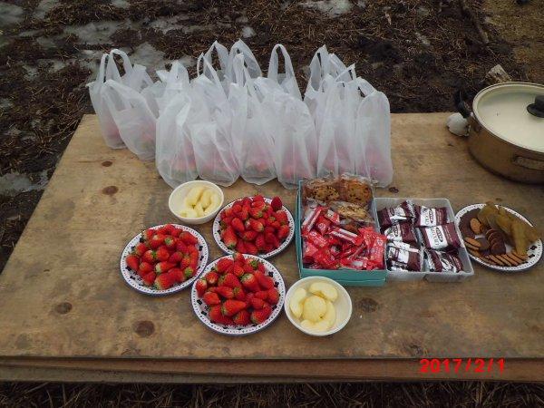 イチゴがいっぱい・・・・