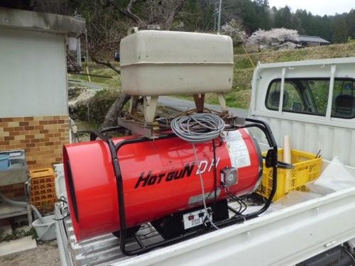二酸化炭素発生装置・・兼・・暖房機