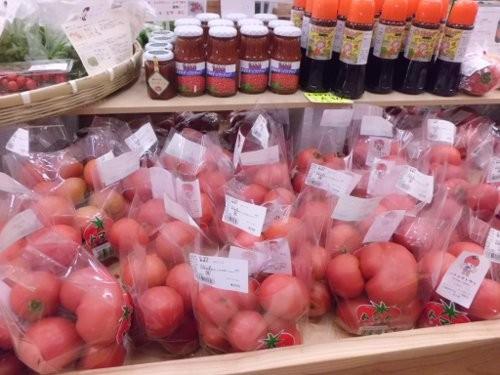 直売所、ハナイチトマト