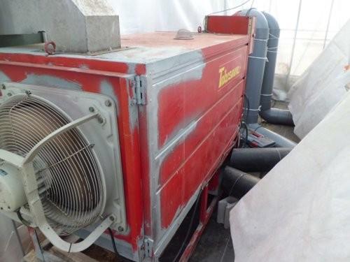 修理した竹沢の暖房機