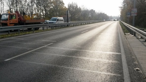 Verkehrsüberwachungsanlagen auf vierspurigen Landstraßen