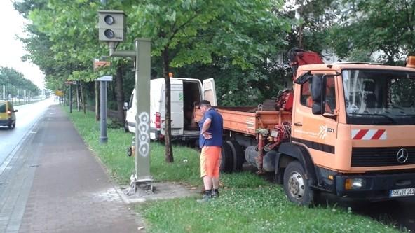 Sanierung und Umbau von Verkehrsüberwachungsanlagen