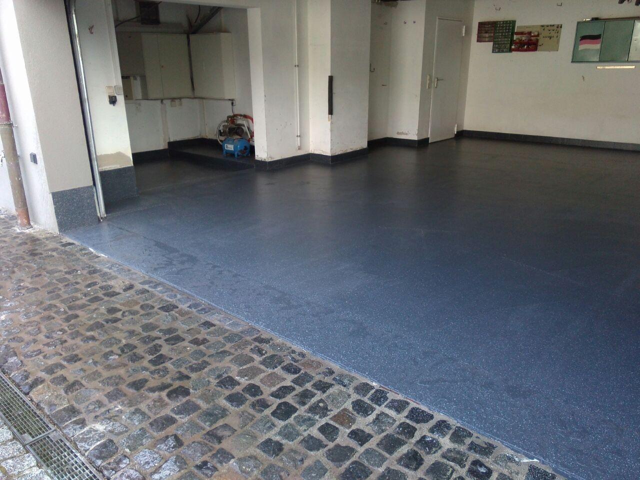 Abdichtung und Kunststoffbeschichtung Garagenboden