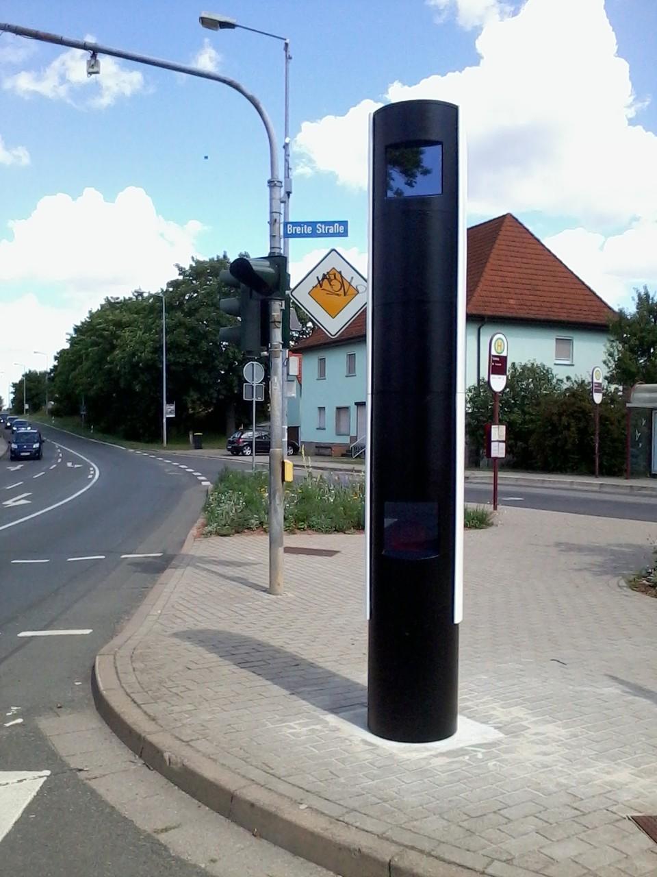 Verkehrsüberwachungsanlagen mit Lasertechnik