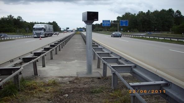 Verkehrsüberwachungsanlagen auf Autobahnen