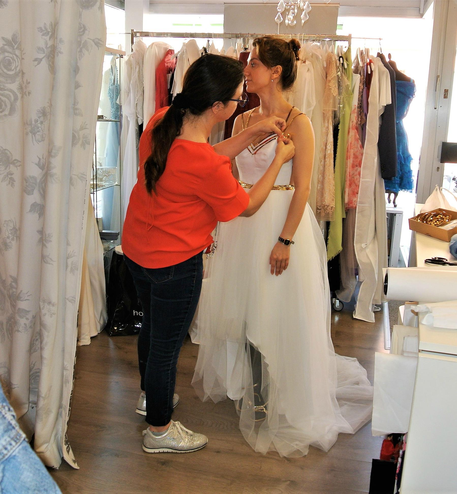 Gehe keine Kompromisse bei Deinem Hochzeitskleid ein! - O. B. ...