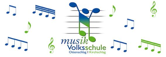 Logo mit Musiknoten