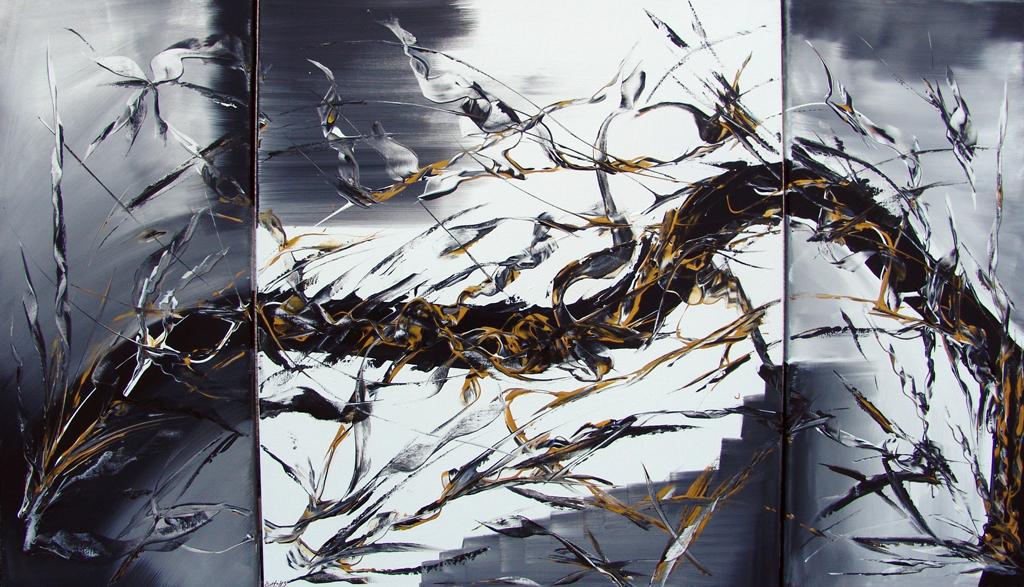 black dragon 3teilig 70 x 120 cm
