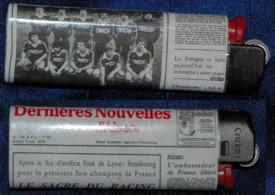Briquet titre de champion de France 1979
