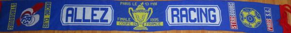 Finale de la coupe de France 1995 Racing - PSG 0-1 (Contributeur : Pepito)
