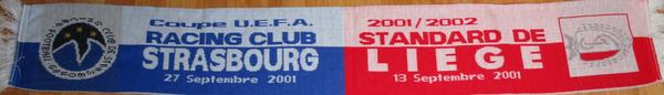 Coupe UEFA RCS - Standard de Liège 0-2, 2-2 (Contributeur : Pepito)