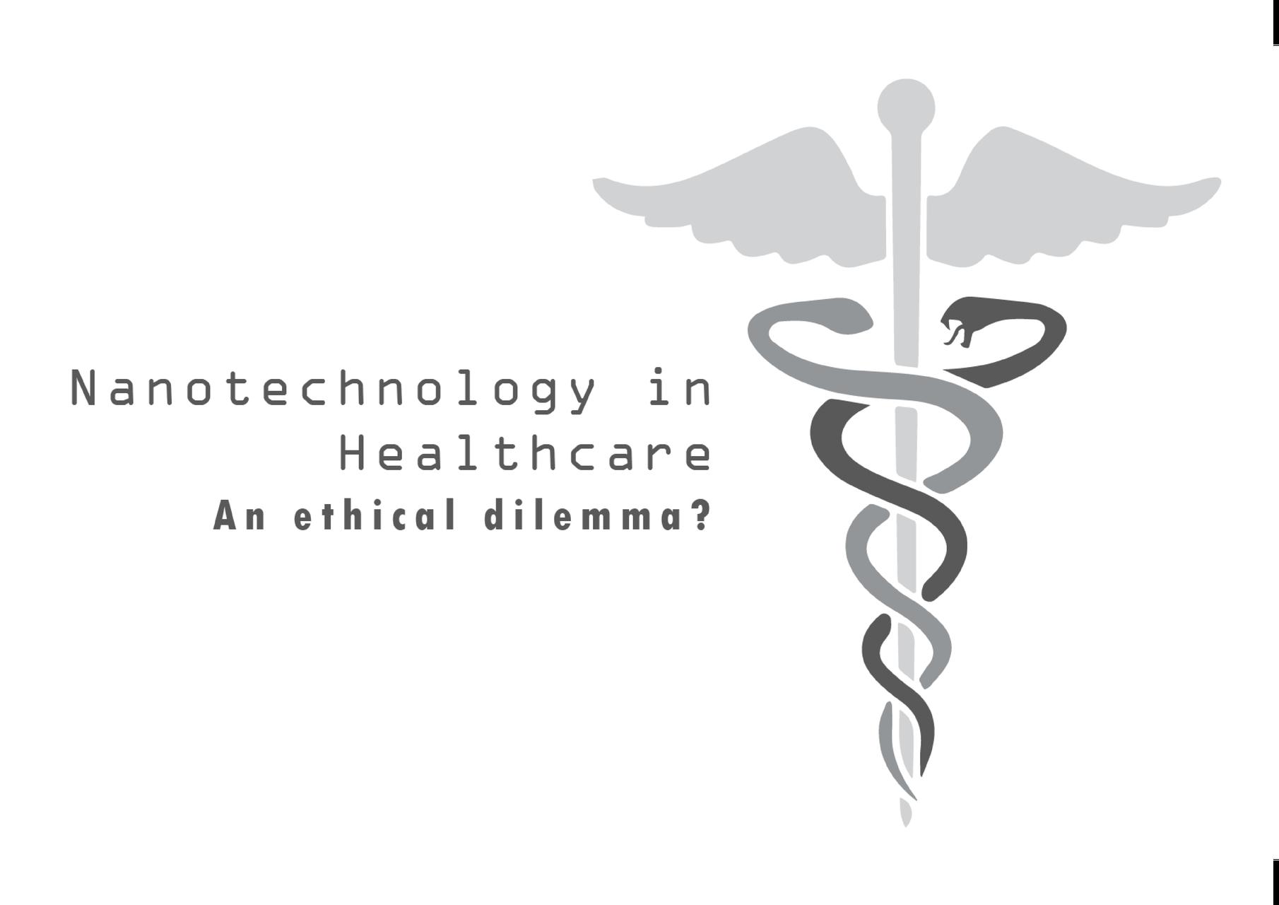 Logo bij eigen onderzoek naar de ethische gevolgen omtrent nanotechnologie