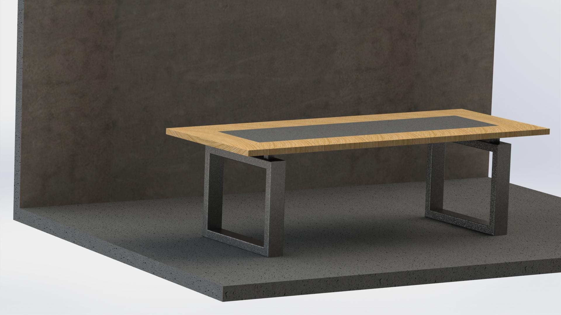 Tafel beton Prijs op aanvraag