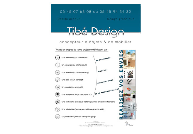 Affiche Tibé Design