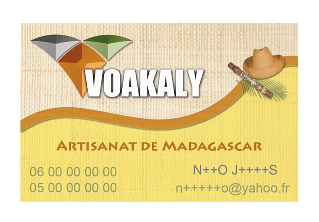 Carte de visite Voakaly
