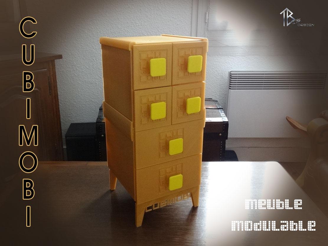 Meuble modulable Cubimobi