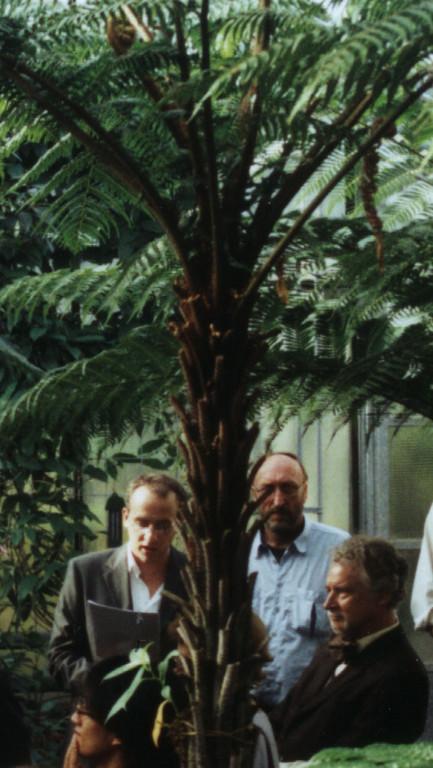 Palmenhaus 2001 mit Gerhard Fleischmann (Komponist)