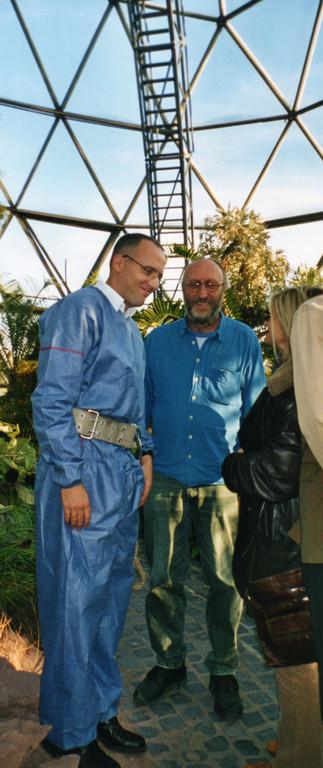 Kuppel Düsseldorf 2003 mit Gerhard Fleischmann