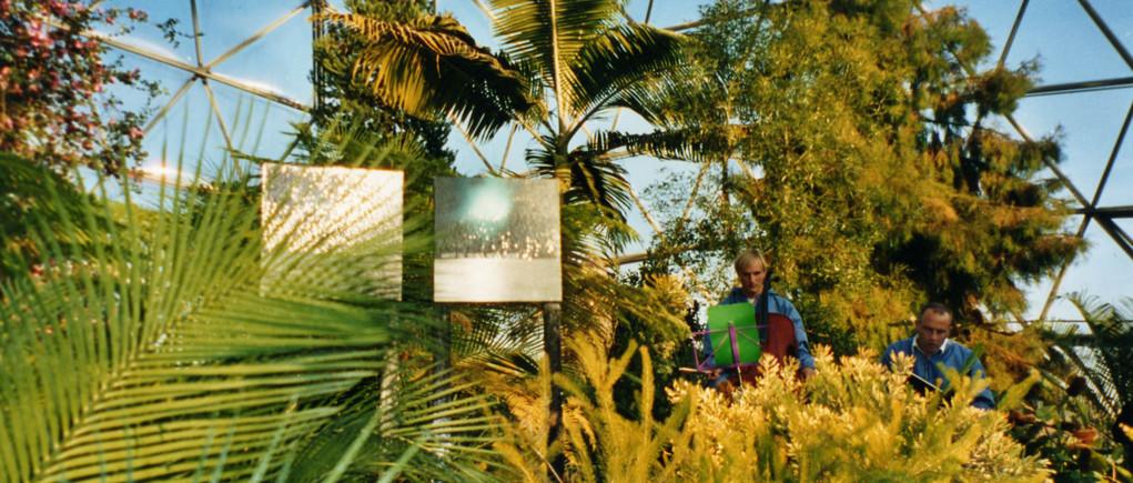 Botanischer Garten Düsseldorf 2003 Cellist: Florian Fleischmann